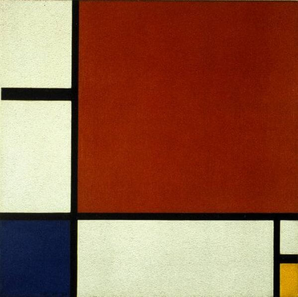 composition ii in red blue and yellow 1929 by piet mondrian