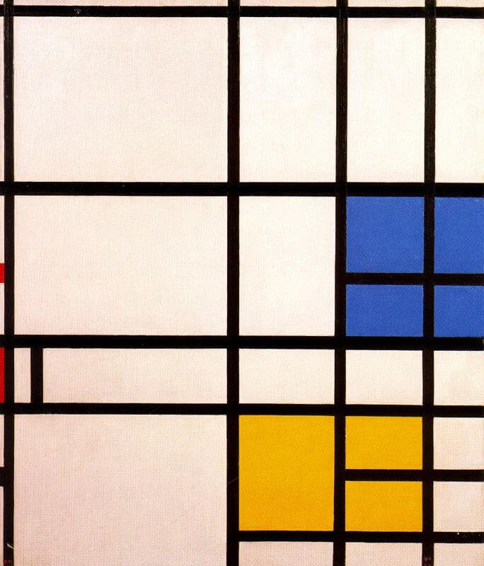 Composition London, 1940-42 by Piet Mondrian