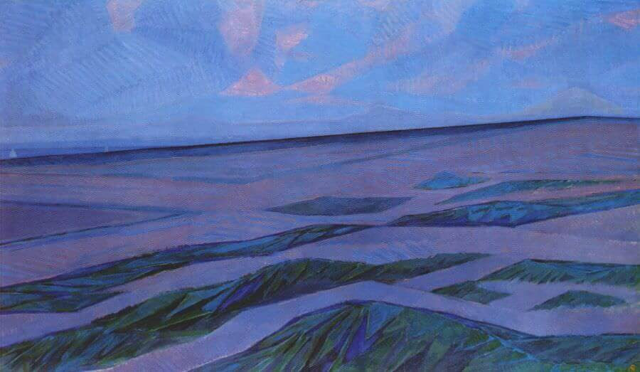Dune Landscape 1909 By Piet Mondrian