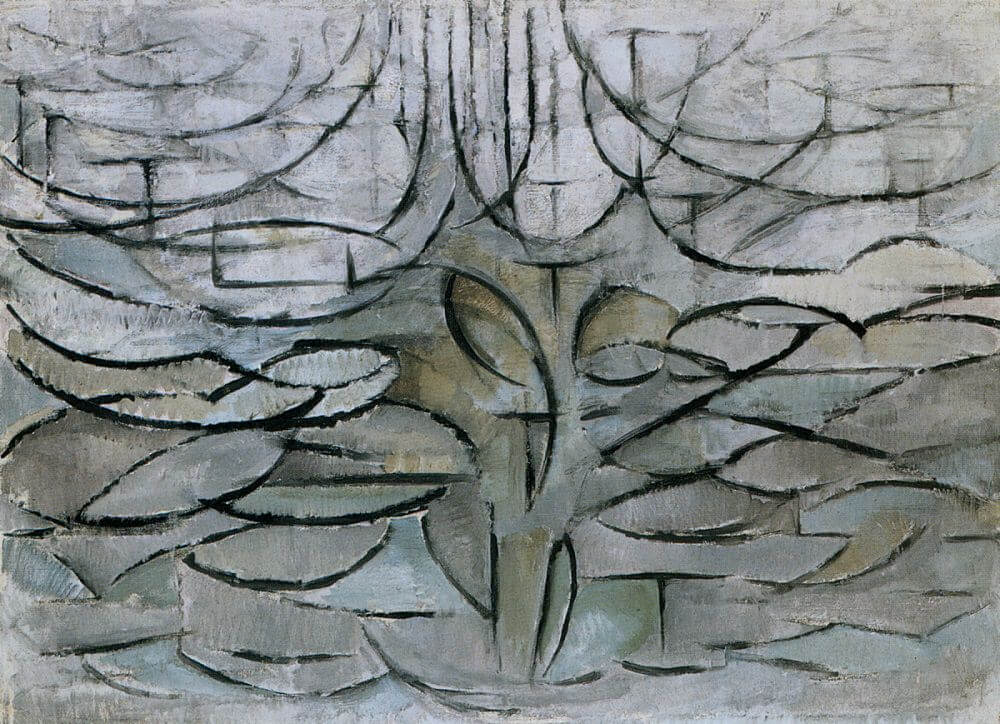The Flowering Apple Tree, 1912 by Piet Mondrian