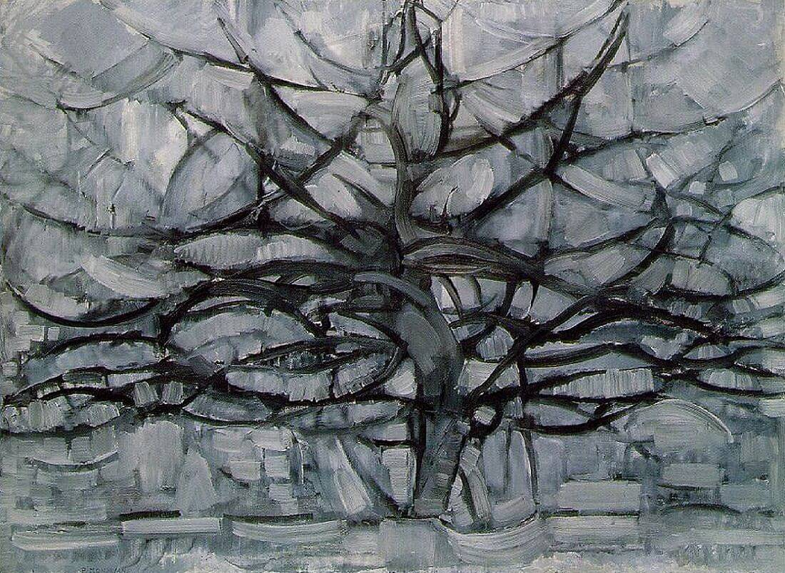 1912, Piet Mondrian, Gray Tree