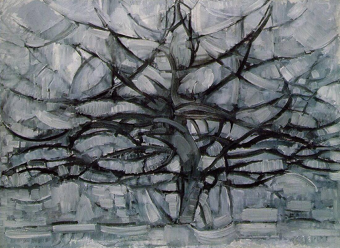 1912, Piet Mondrian, Gray Tree