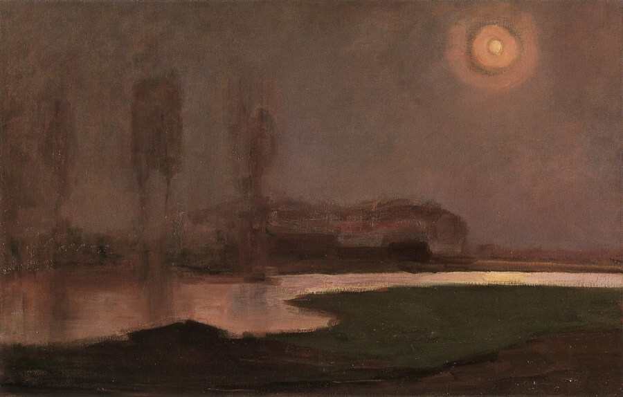 Summer Night, 1906 by Piet Mondrian