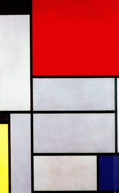 Piet Mondrian-paintings,biography,quotes of Piet Mondrian.