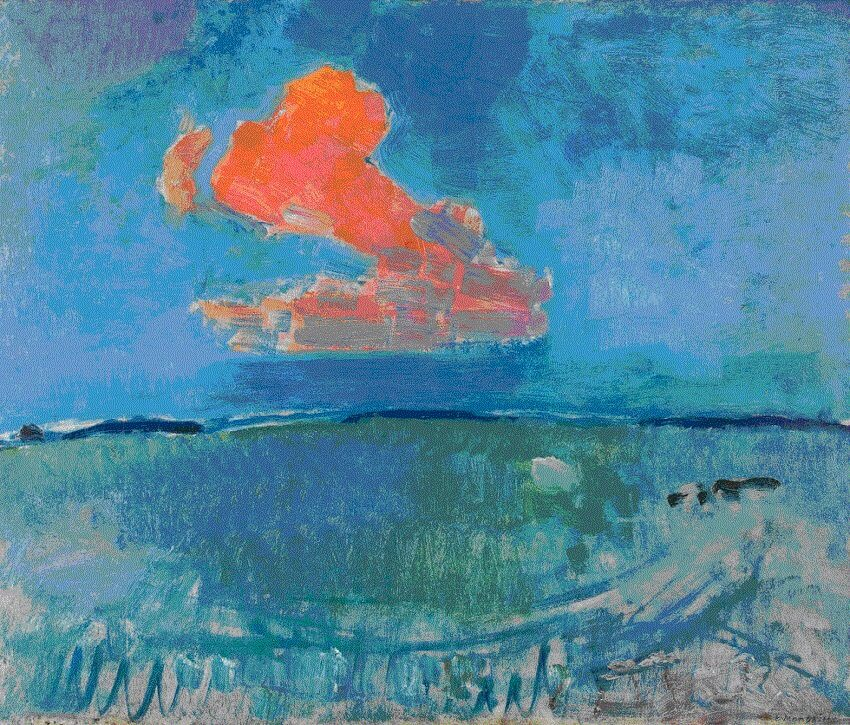 The Red Cloud, 1907 by Piet Mondrian